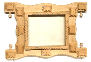 TRAMP ART FRAME  (# 3228) by Geo G Borum