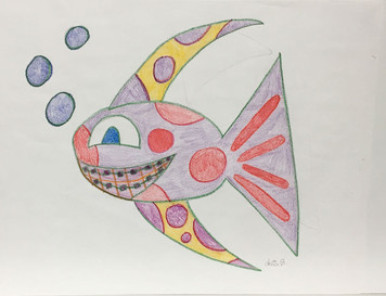 FUNKY FISH with BRACES by Delia
