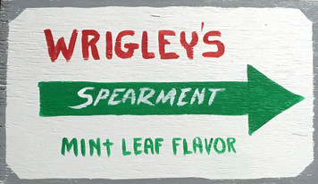 WRIGLEYS SPEARMENT GUM by Otto