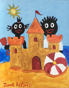 2 KIDS with SANDCASTLE by Jonne Applseed