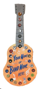 CUSTOM GUITAR with YOUR BANDS NAME