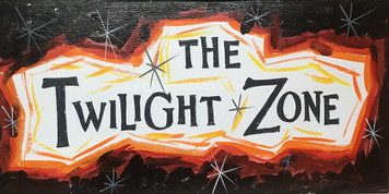 TWILIGHT ZONE - Old TV Show - Sign by George Borum