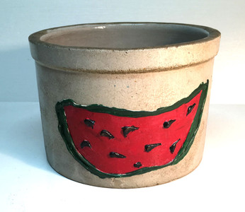WATERMELON - BLACK FACE  DESIGNS - CROCKERY