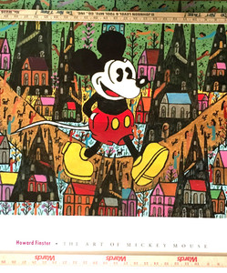ARTPRINT by Howard Finster - Mickey Mouse