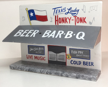 TEXAS LADY - HONKY-TONK  - 3D StoreFront  -  by George Borum