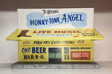 HONKY TONK ANGEL - Store Front - Was $ 125 - NOW $95