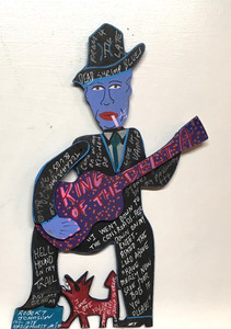 ROBERT JOHNSON Cut-Out by Miz Thang