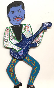 BOBBY RUSH Cut-out by Miz Thang - WAS $90 - NOW $75