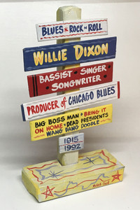 WILLIE DIXON SIGNPOST WAS $30 - NOW $15
