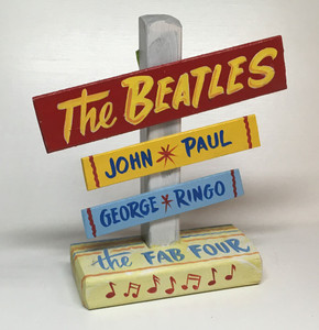 The BEATLES SIGNPOST - WAS $30 - NOW $15