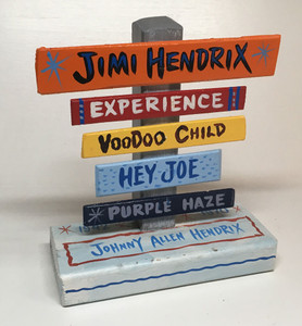 JIMI HENDRIX SIGNPOST NOW ONLY $15