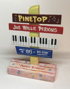 PINETOP PERKINS SIGNPOST  - NOW ONLY $15