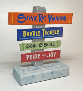 Stevie Ray VAUGHAN Signpost