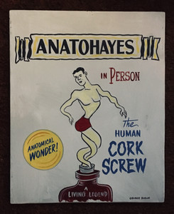 THE HUMAN CORKSCREW SIGN by George Borum - Was $35 - Now $20
