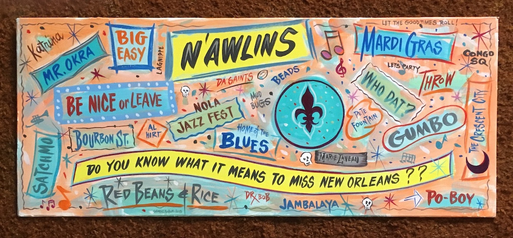 Image result for new orleans sign