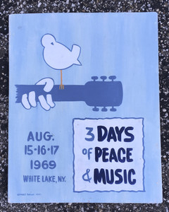WOODSTOCK SIGN by George Borum