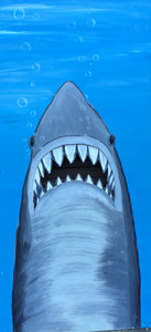 FUN HOUSE - USED  PHOTO PROP - Shark