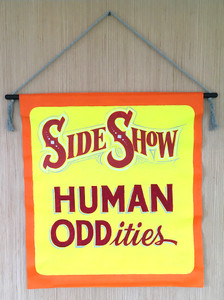 Circus - Carnival SIDE SHOW - Human Oddities by George Borum