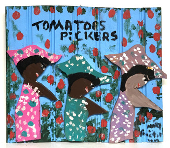 TOMATO PICKERS - by Missionary Mary Proctor - #3476