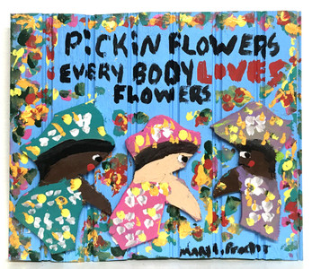 PICKING FLOWERS - by Missionary Mary Proctor #3482