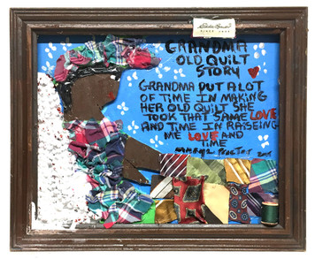 GRANDMA's OLD QUILT STORY - By Mary Proctor - # 3490-c