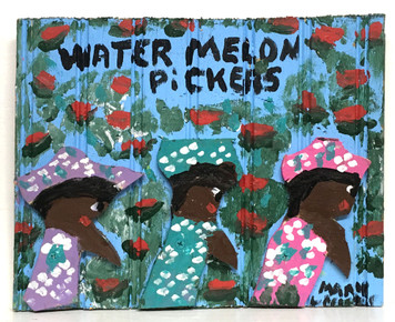 WATERMELON PICKERS by Mary Proctor - #3491
