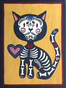 KITTY CAT # 14 by Maria del Sol