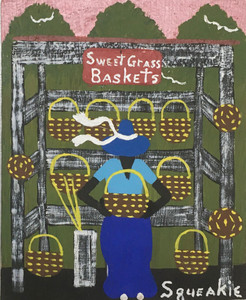 BASKET LADY #3 - by Squeakie