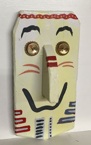 Wall Hanging Mask #2 - Just Found