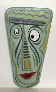 COCKEYED WALL MASK #1