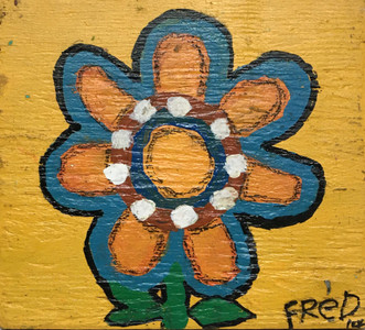 FLOWER PAINTING - 203 - by Billy Fred Hellams