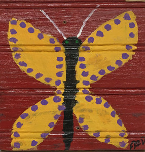 BUTTERFLY PAINTING by Billy Fred Hellams