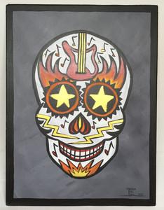 Sugar Skull - Czlavara de musica metal pesado #30 - by Maria del Sol