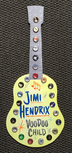 JIMI HENDRIX - Wood Wall Hanger