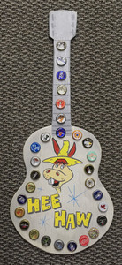 HEE HAW - WOODED GUITAR Cut-out