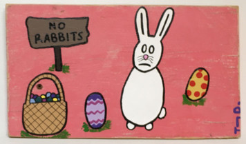 """REALLY?"" - Disappointed Bunny Rabbit - by Tony Dotson"