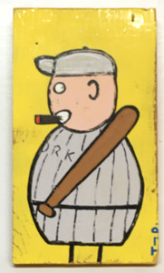 """THE BALL PLAYER"" - by Tony Dotson - Was $80 - Now $40"