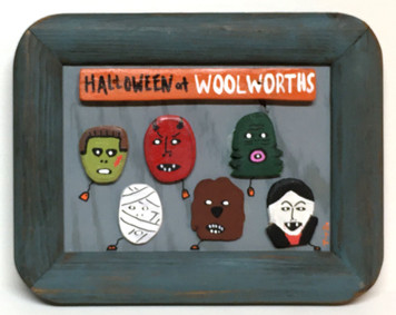 """HALLOWEEN at Woolworths"" - 3-D - by Tony Dotson"