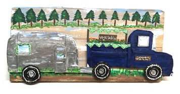 LET'S GO CAMPING - AIRSTREAM TRAILER - by Deans V Bowers