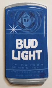 BUD LIGHT BEER - Wall Hanger by Heidi Wolfe