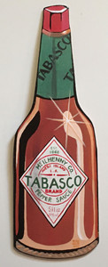 TABASCO PEPPER SAUCE - Cut-out by Heidi Wolfe