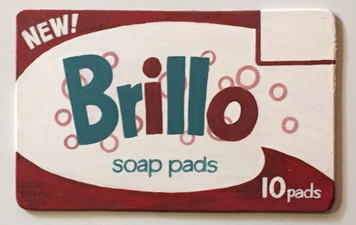 Famous BRILLO PAD BOX - Cut-out - by Heidi Wolfe