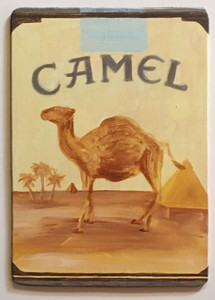 CAMEL CIGARETTES PACK - Cut-out - by Heidi Wolfe