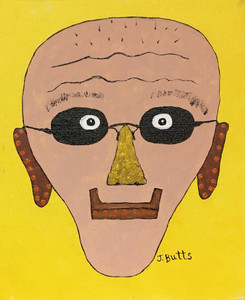 """""""BALDY"""" - 8""""x10""""  Painting by JoAnn Butts"""