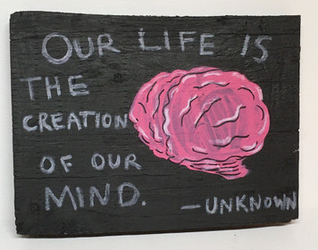 OUR LIFE is the Creation of our Mind - by Cayman K