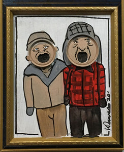 GRUMPY OLD MEN MOVIE - Can Top Art - Kip Ramey