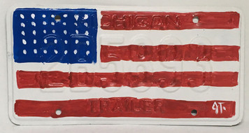 AMERICAN FLAG Painted American Flag by John Taylor