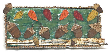ACORNS & AUTUMN LEAVES by Deane Bowers