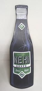 Grape Nehi - Wood Cut-out Bottle - by Heidi Wolfe