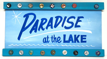 PARADISE AT THE LAKE - PARTRY SIGN by George